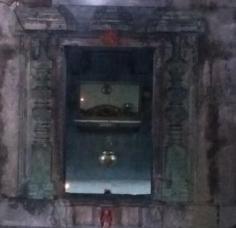 Inner sanctum Sangameshwar