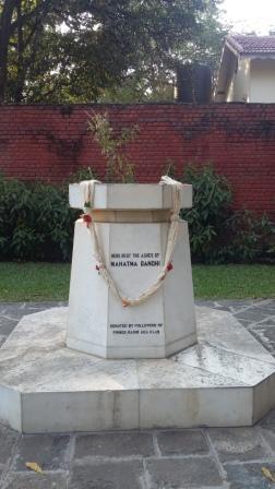 Mahatma Gandhi Marble memorial