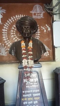 Mahatma Phule statue