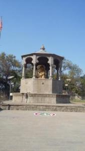 Sambhaji maharaj statue Vadhu