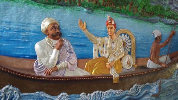 Sawai Madhavrao Peshwe and Mahadaji Shinde