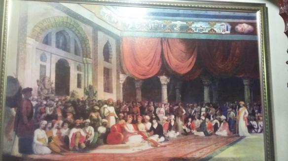Sawai Madhavrao Peshwe Darbar 1790
