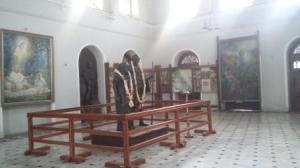 Statue of Gandhiji and Kasturba