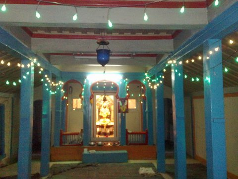 Inside view of Dattamandir