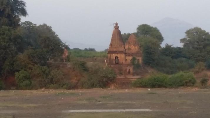 Various temples nearby Satara