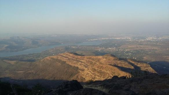 A view from Sinhgad