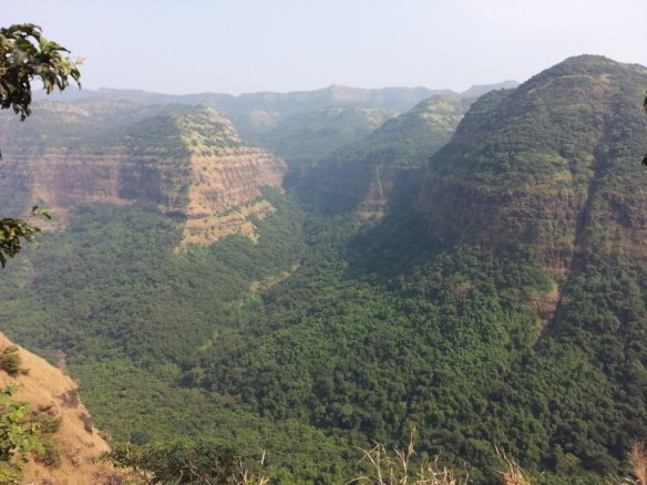 Valley in the ghat