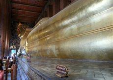 Golden Reclining Buddha_Wat Pho