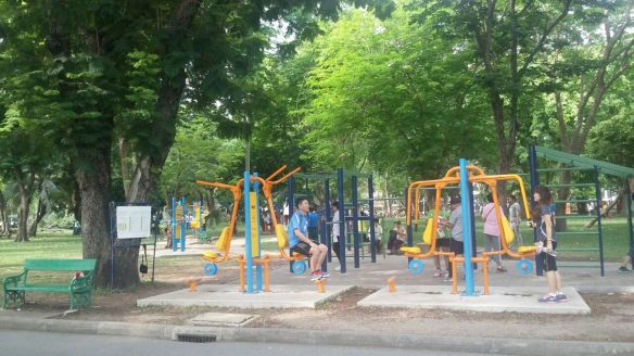 Lumpini Park _Outdoor Gym