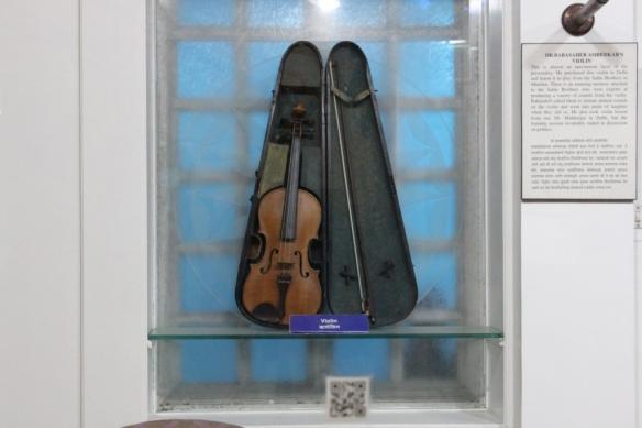 Dr.Ambedkar's violin.JPG
