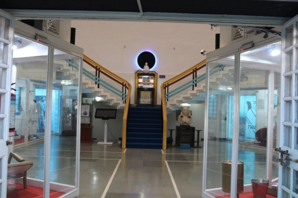 Internal view of Dr.Ambedkar memorial